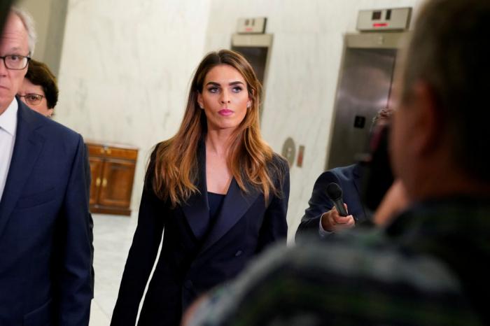 Hope Hicks, ancienne proche conseillère de Trump, de retour à la Maison-Blanche