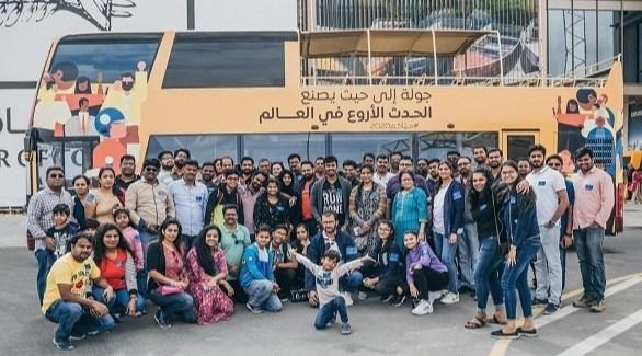 إكسبو 2020 دبي يتسقبل 10 آلاف زائر ضمن الجولات التعريفية