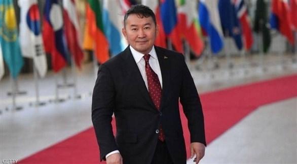 الرئيس المنغولي يخضع للحجر الصحي بسبب كورونا