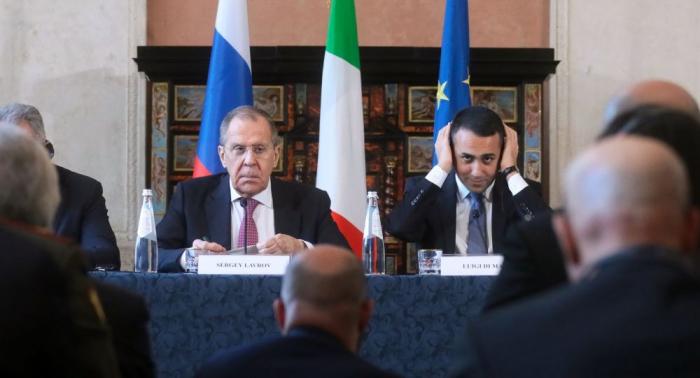 لافروف: مجلس الأمن يجب أن يوافق على مهمة مراقبة حظر الأسلحة إلى ليبيا