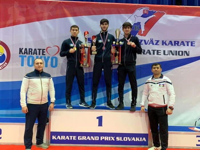 Karateçilərimiz Slovakiyada 3 medal qazandı