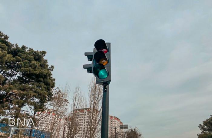 Daha bir ərazidə yol hərəkəti dəyişdi - FOTO