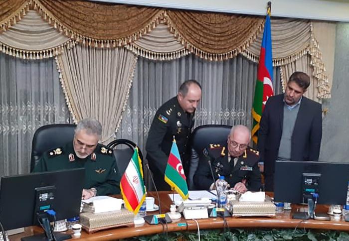 Azərbaycan-İran hərbi əməkdaşlığı müzakirə edildi