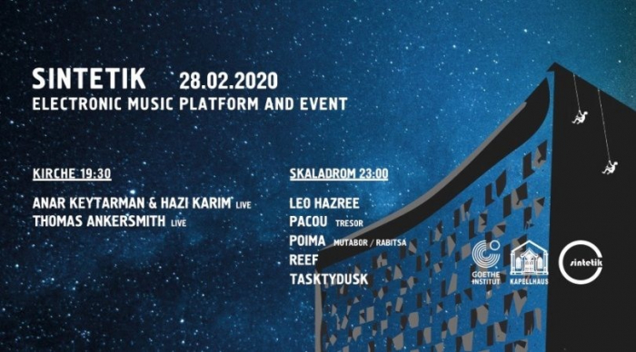 Live acts of experimental music to be performed at Goethe Zentrum Baku