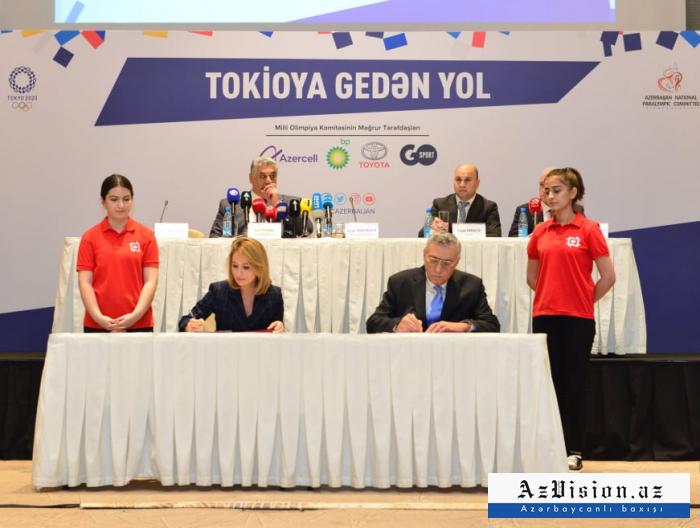 Tokio-2020 ilə bağlı memorandum imzalandı - FOTOLAR