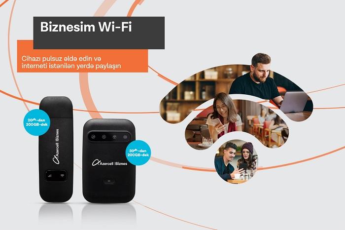 """Azercell-dən """"Biznesim Wi-Fi"""" təklifləri"""
