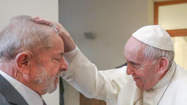 Le pape reçoit Lula au Vatican pour parler d
