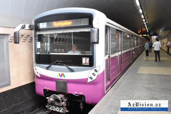 Metroda koronavirusa görə dezinfeksiya işləri aparılır