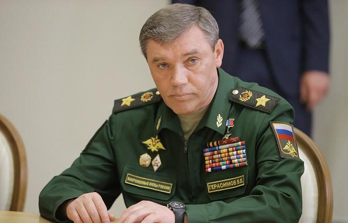 Gerasimov Bakıya gəldi, Nəcməddin Sadıkovla görüşdü