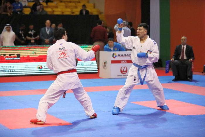 Karateçimiz Avstriyada finala yüksəlib