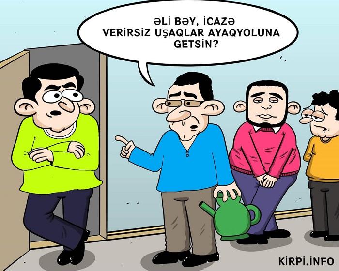 Əli bəyin icazəsi – KARİKATURA
