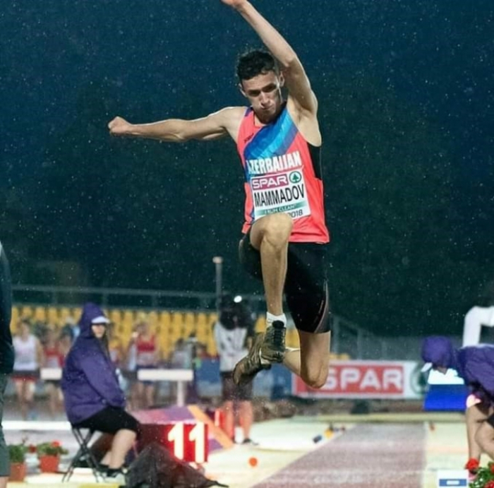 Azerbaijan's Mammadov wins gold at International Indoor Athletic Match U20 Minsk