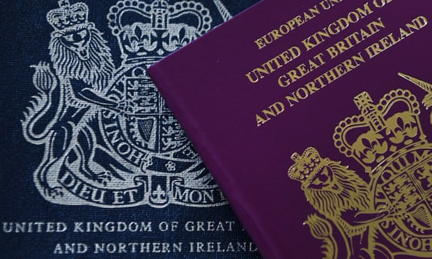 Blue Brexit passports to be issued from next month