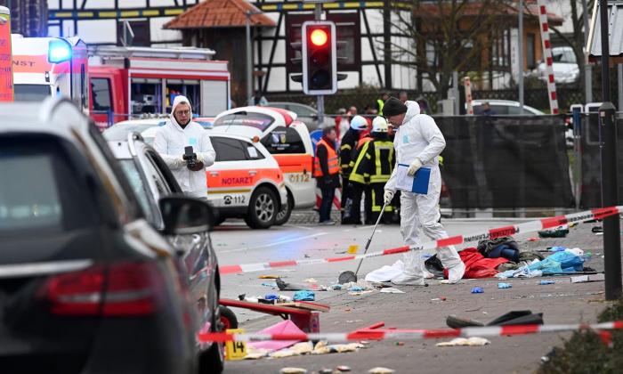 Car drives into German carnival parade, around 30 injured: police
