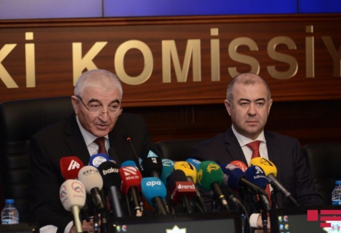 CEC chairman: Today is a historic day in Azerbaijan