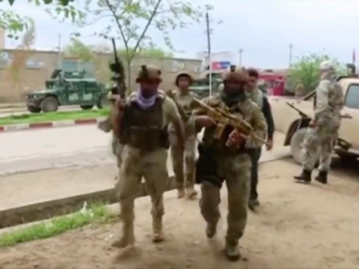 Afghanistan:   Attaque des taliban en dépit de l