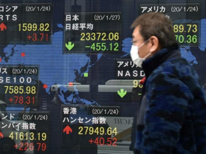 Les Bourses mondiales effrayées par la propagation du coronavirus