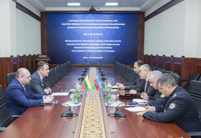 Prospects of relations between Azerbaijani, Lithuanian customs services discussed