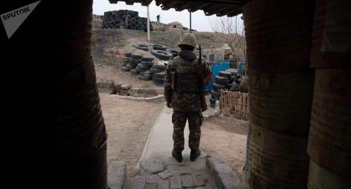 Erməni hərbçi Azərbaycanla sərhəddə yaralandı