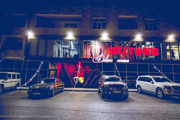 """""""Hollywood Cinema Club""""un sahibi cərimələndi"""