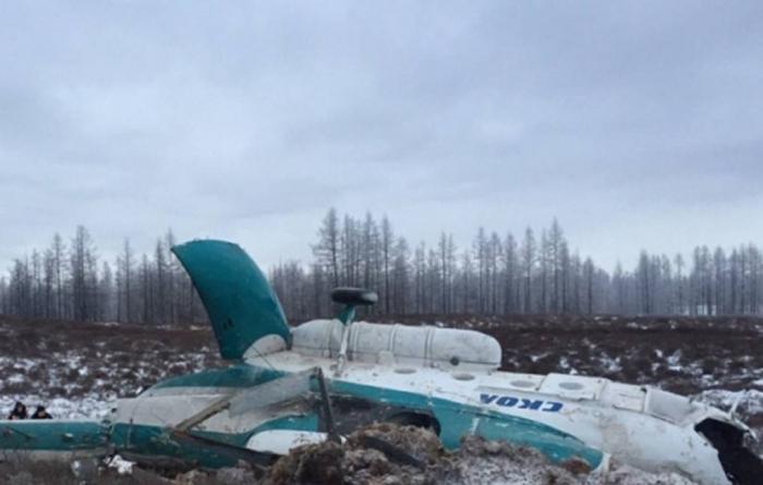 Rusiyada helikopter qəzası - İki nəfər ölüb