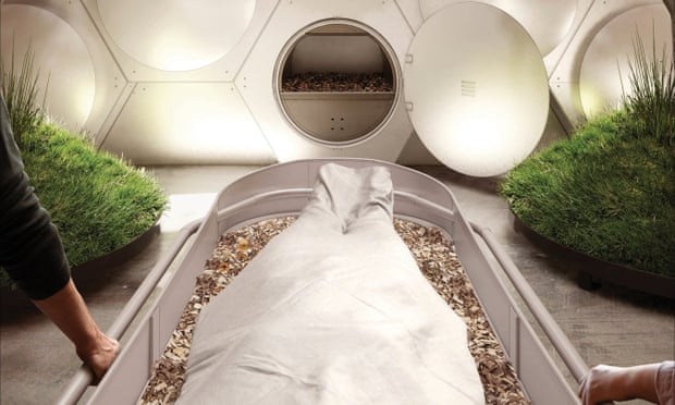 Human composting could be the future of deathcare