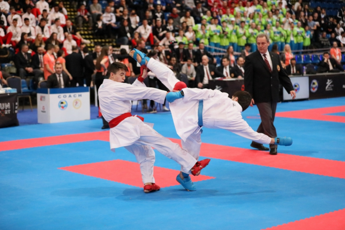 Azerbaijani karate fighters take 8 medals at European Championships