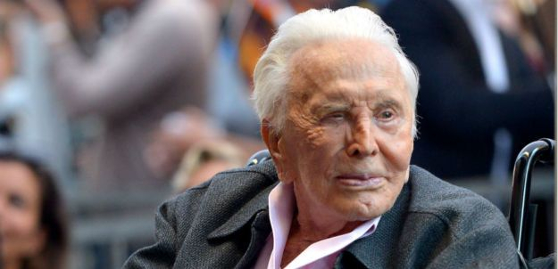 Legendary Hollywood actor Kirk Douglas has died, age 103