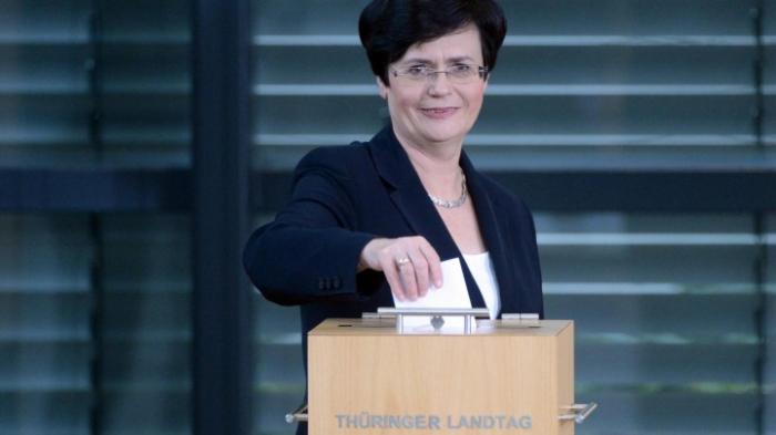 Linke schlägt Lieberknecht als Regierungschefin vor