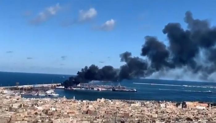 Türkiyə gəmisi vurub-