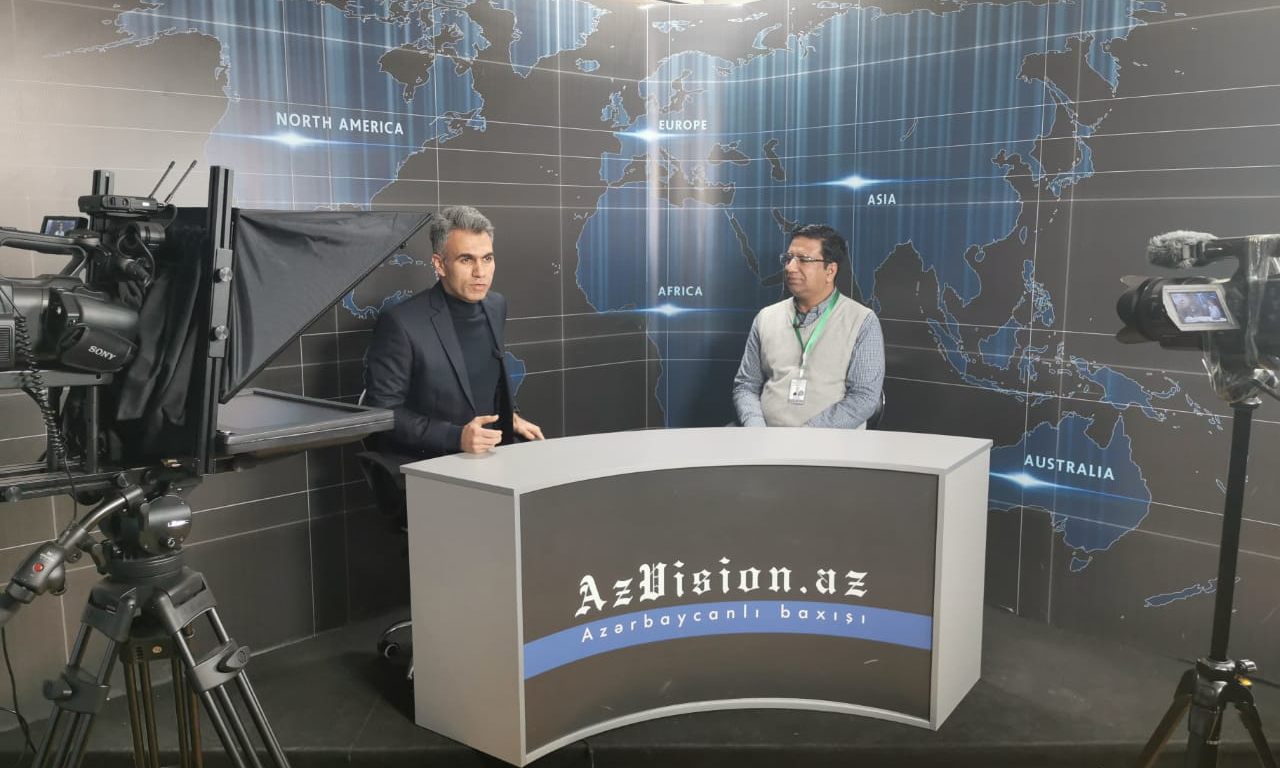 Executive Director of CGSS visits AzVision