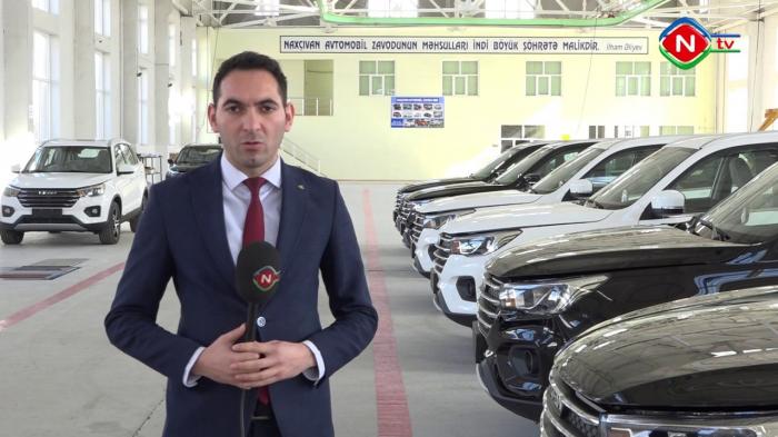 Naxçıvanda yeni avtomobillər istehsal ediləcək - VİDEO