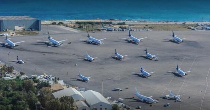 Mitiga International Airport in Libya