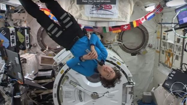 Christina Koch: Nasa astronaut sets new female space record