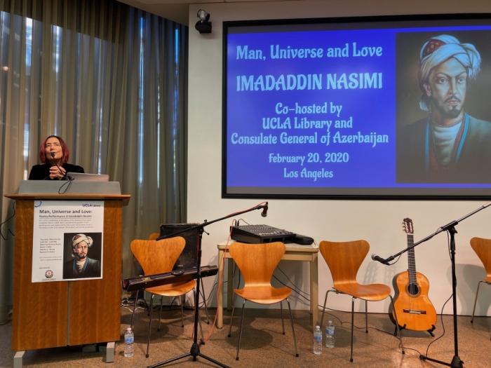 UCLA Library hosts event on Azerbaijani poet Imadaddin Nasimi's poetry