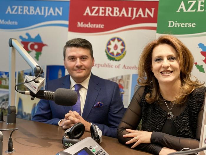مقابلة عن آدربيجان على أكبر إذاعة بالفارسية في أمريكا – فيديو