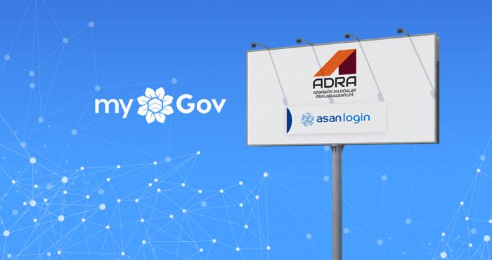 """ADRA-nın """"İcazələr"""" sistemi """"myGov"""" portalında"""