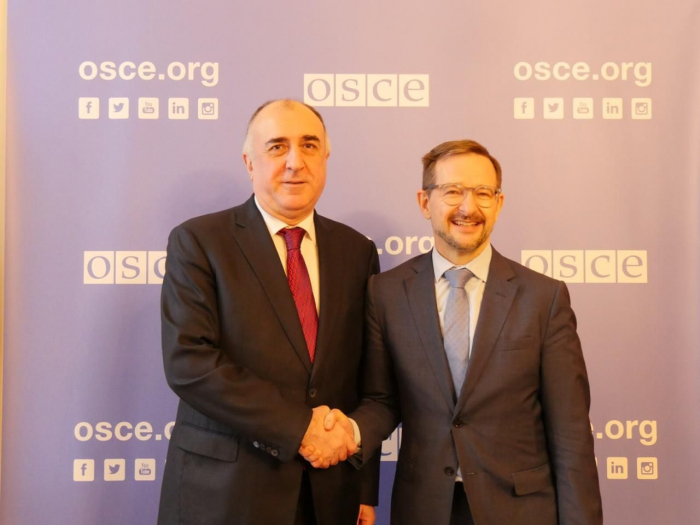 Elmar Mammadyarov invites OSCE Secretary General to visit Azerbaijan