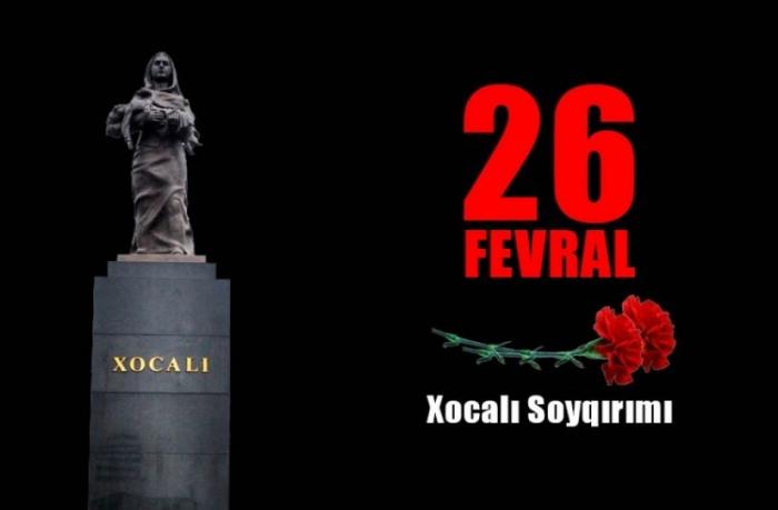 "Ukraynada ""Xocalı ayı"" elan edilib"