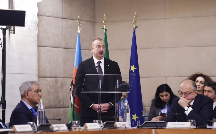 President Aliyev: Our main task is to diversify trade relations between Azerbaijan and Italy