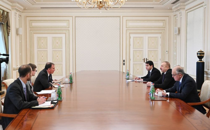 President Ilham Aliyev received US Deputy Assistant Secretary for Energy Diplomacy -   URGENT