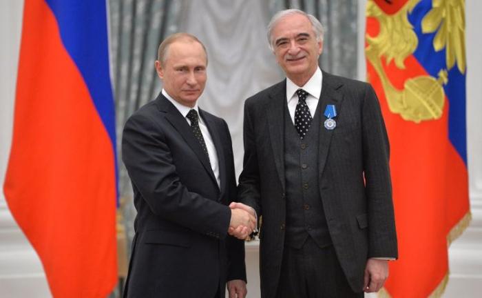 Putindən Polad Bülbüloğluna yubiley təbriki