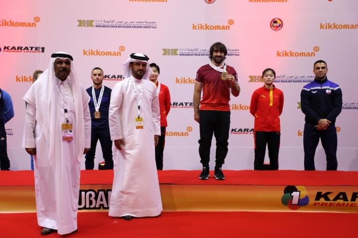 Rafael Aghayev wins Karate 1 - Premier League Dubai