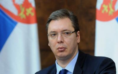 رئيس صربيا يهنئ الهام علييف