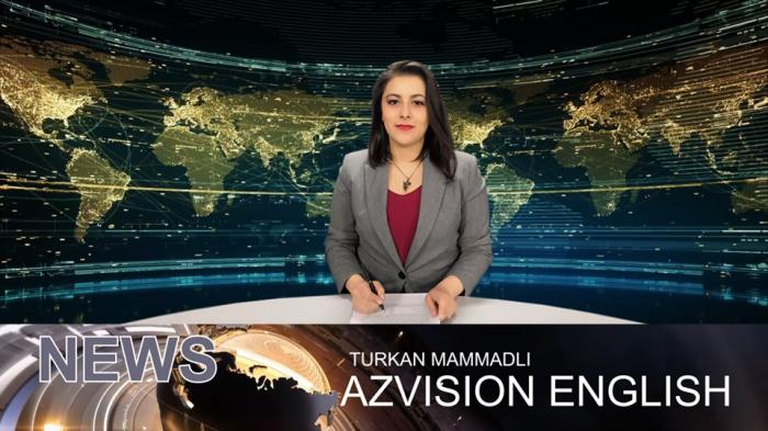 AzVision TV publica nueva edición de noticias en inglés para el 27 de febrero -  Video