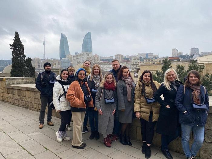 Rusiya turoperatorları Azərbaycanın turizm imkanları ilə tanış olub