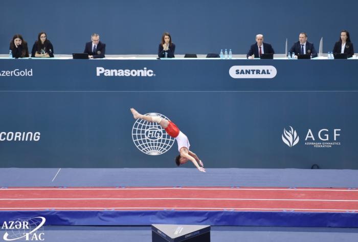 La Coupe du monde de trampoline et de tumbling débute à Bakou