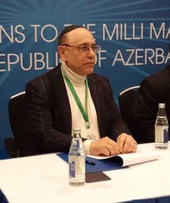 Member of US Jewish Community appreciates attitude towards national minorities in Azerbaijan