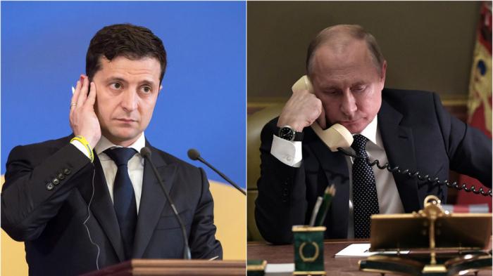 Putin və Zelenski telefonla danışdı