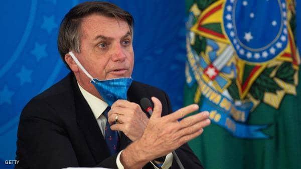 """رئيس البرازيل: """"وباء كورونا"""" إنفلونزا بسيطة وخدعة إعلامية"""